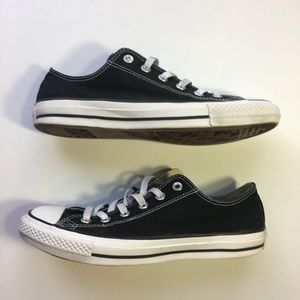 Converse All Star Low Unisex Black Sneakers